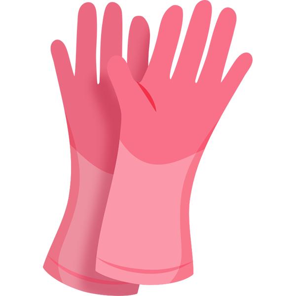 掃除用ゴム手袋