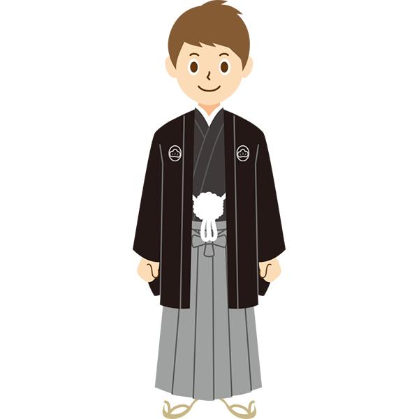 袴 男性 成人式