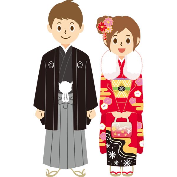 袴&振袖 男女 成人式