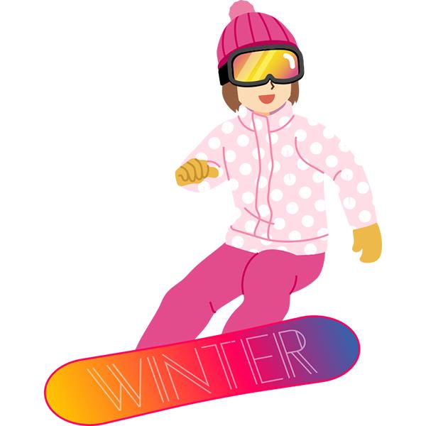 スノーボード 女性