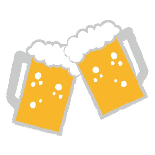 ビール ジョッキ 乾杯