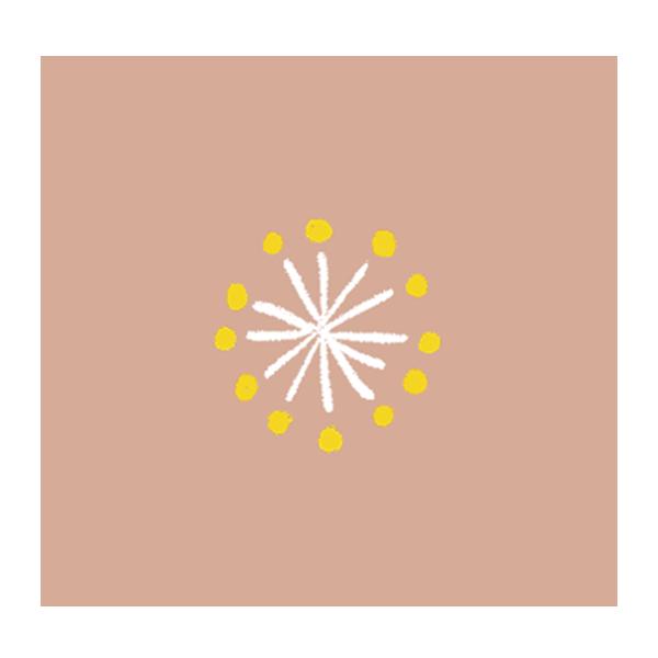 梅の花 (ベージュ)