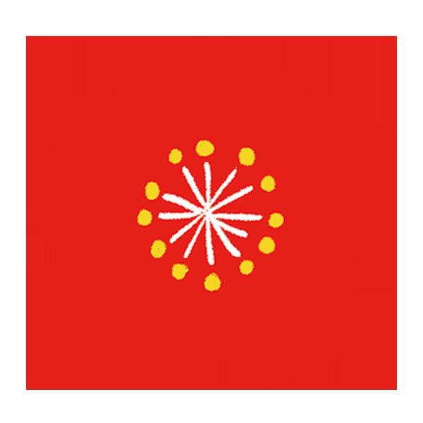 梅の花 (赤)