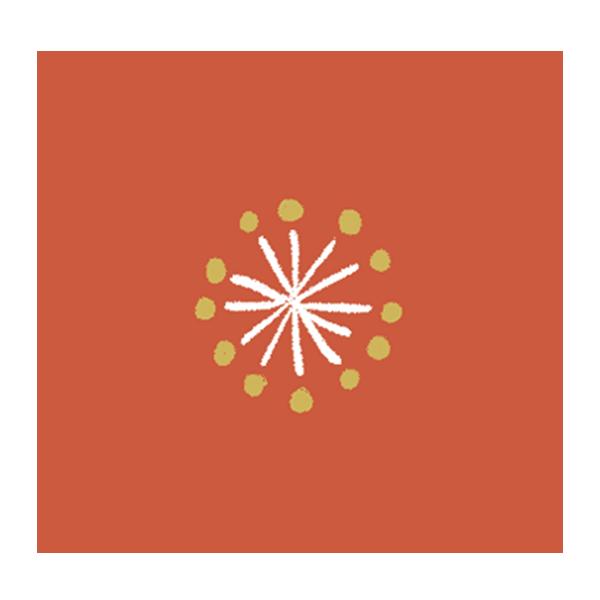 梅の花 (くすみオレンジ)