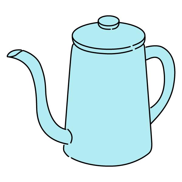ポット(ブルー)
