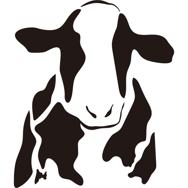 ウシ 牛 丑 シンプル