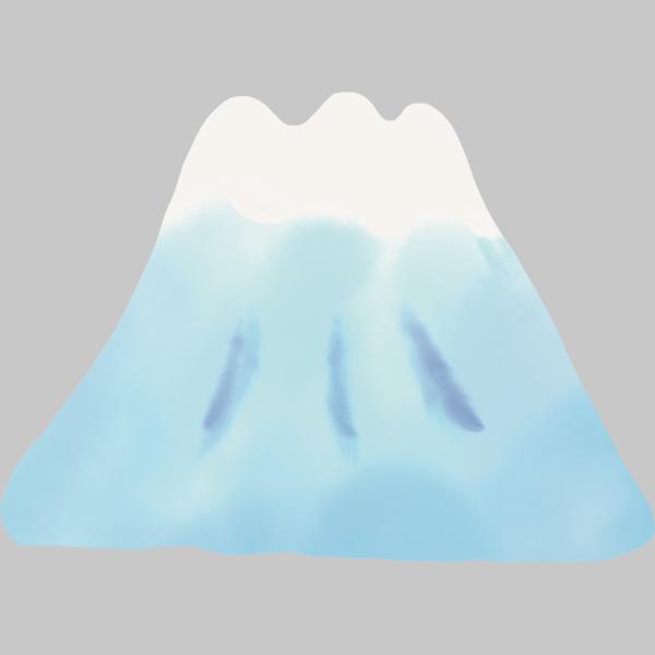 富士山 ゆるイラスト