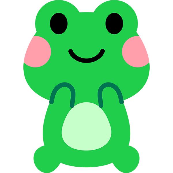 カエル かわいい