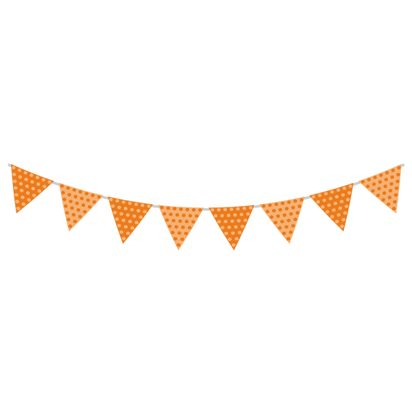 ガーランド オレンジ