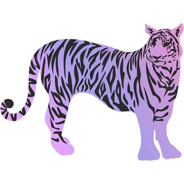 トラ(虎・寅) グラデーションカラー #2